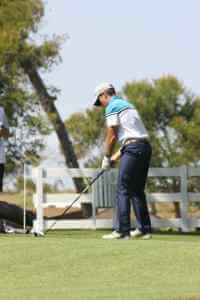 stance de golf