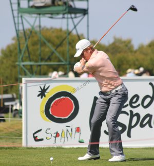 downswing - segunda parte del swing de golf