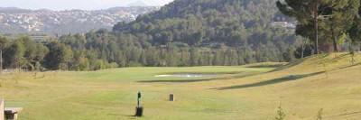 Detalle de un campo de golf